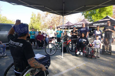 Triumph Handcycle Clinic